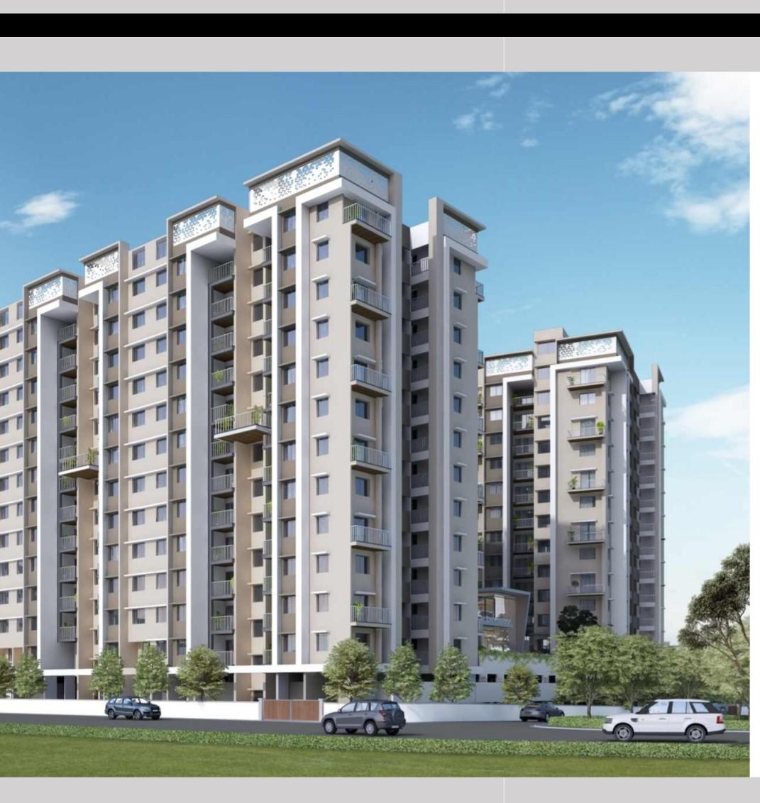 2 BHK + Pooja Room  Apartment For Sale in Prasun Sarvam