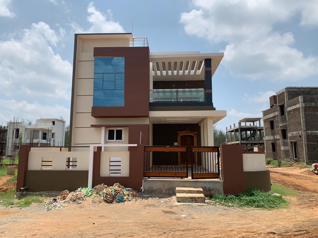 3 BHK + Pooja Room  Villa For Sale in Duvvada