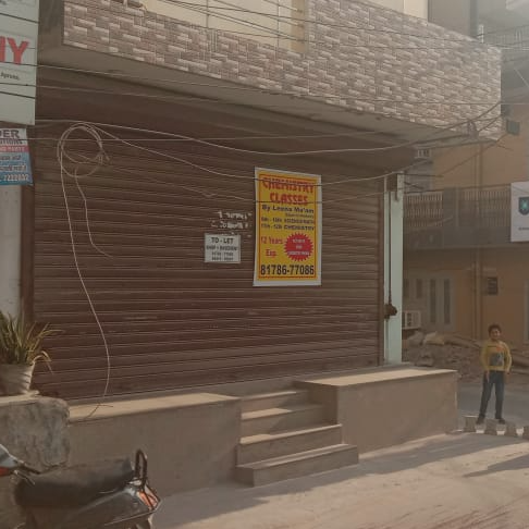 Retail Shop For Rent in Sector 12
