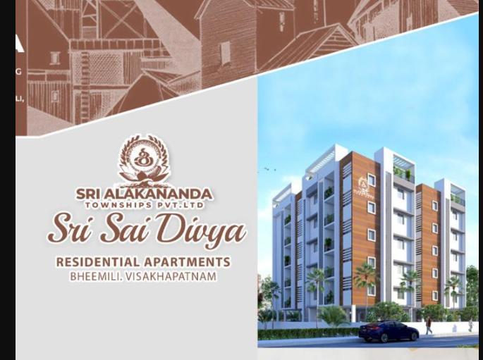 5 BHK + Pooja Room  Apartment For Sale in Bheemili