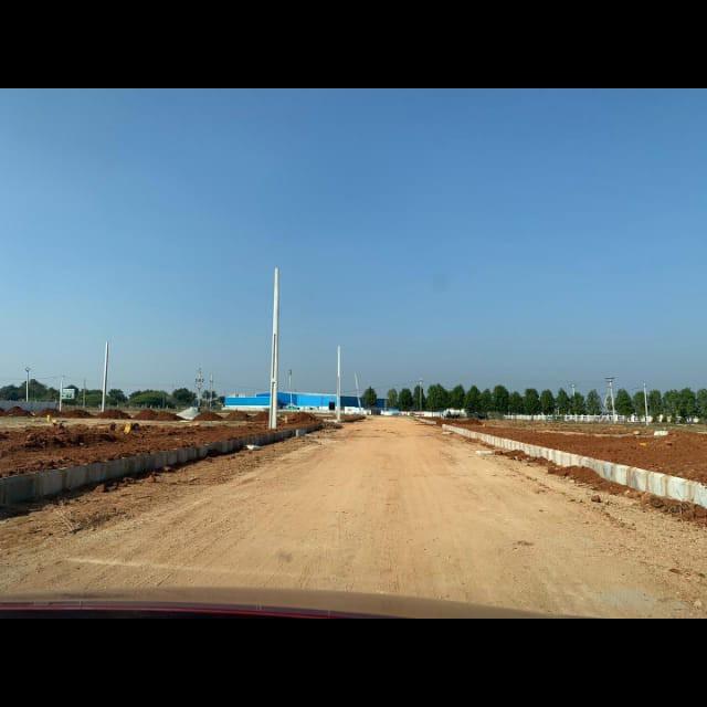 242 Sq.Yd. Plot in Abdullahpurmet