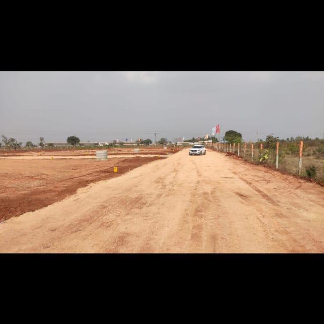 243 Sq.Yd. Plot in Abdullahpurmet