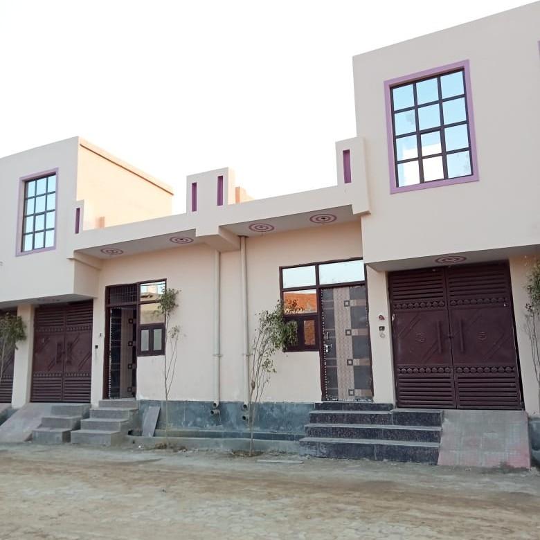 2 BHK + Pooja Room  Villa For Sale in Vrindavan Garden Colony Shahberi