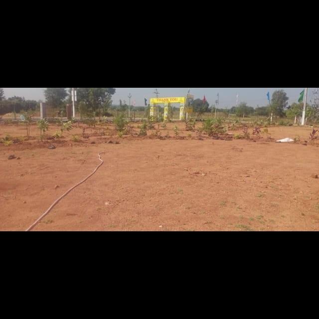 193 Sq.Yd. Plot in Abdullahpurmet