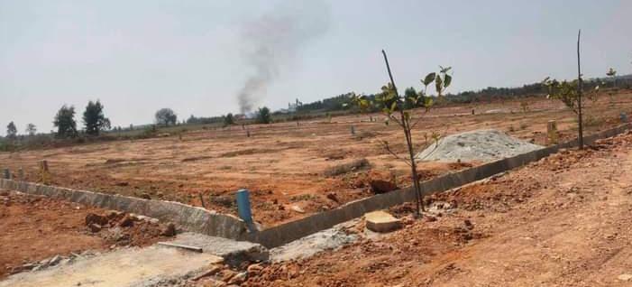2400 Sq.Ft. Plot in Bagaluru