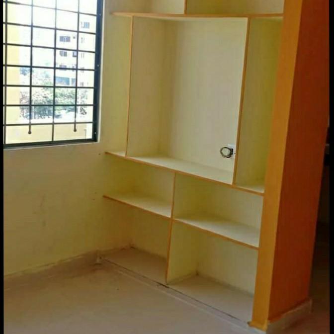 2 BHK + Pooja Room 810 Sq.Ft. Apartment in Sai Krupa Residency