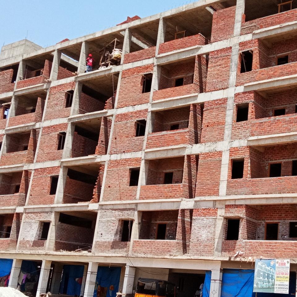 2 BHK + Pooja Room 960 Sq.Ft. Apartment in Venu Gopal Nilayam