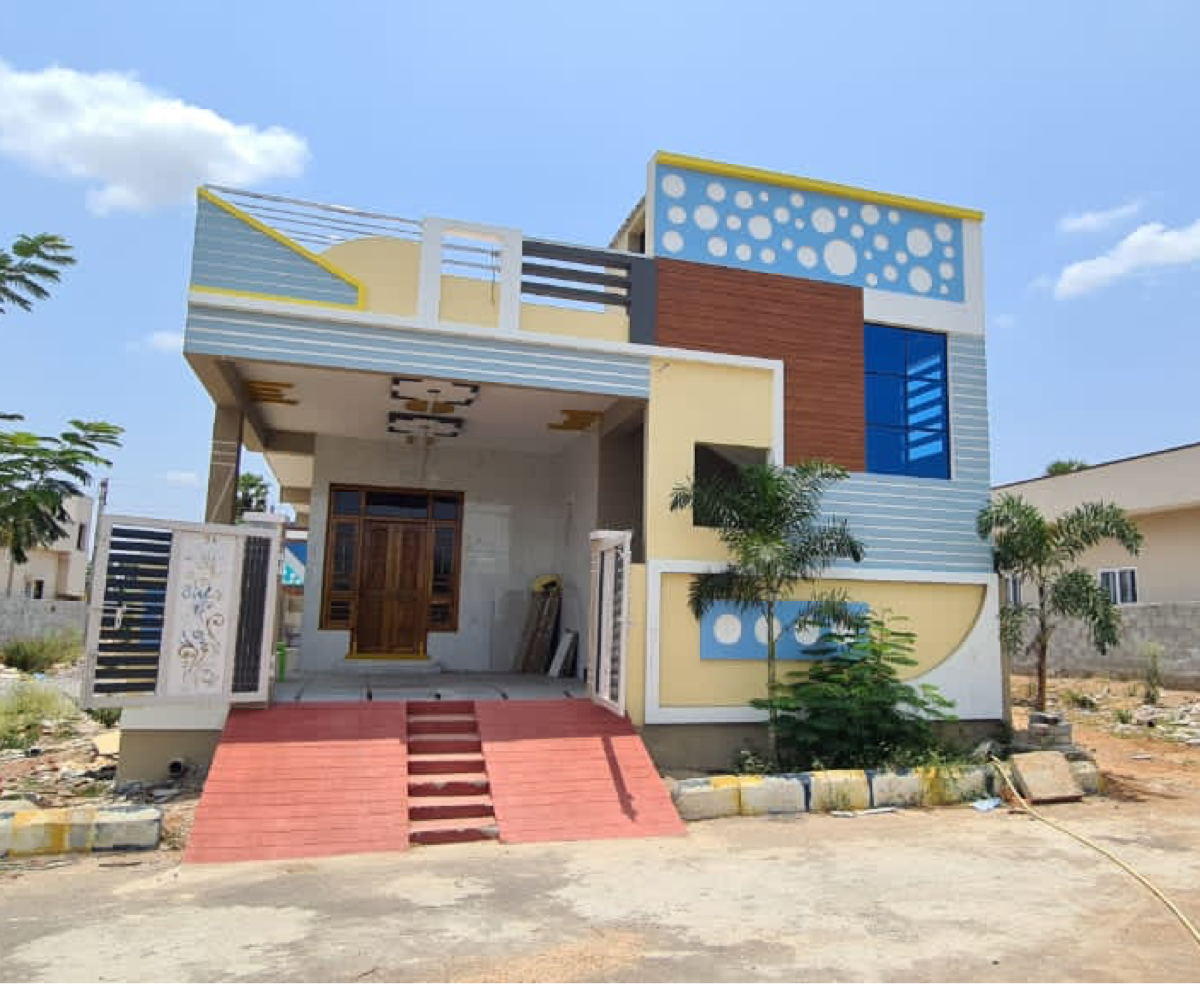 2 BHK + Pooja Room 183 Sq.Yd. Independent House in Manasa Township