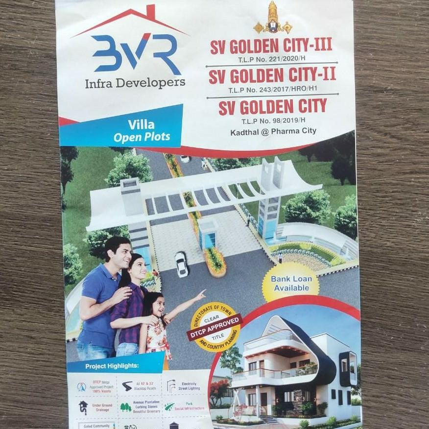 603 Sq.Yd. Land in Sv Golden City